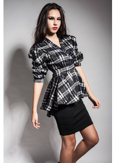 Camasa Plaid Neagra