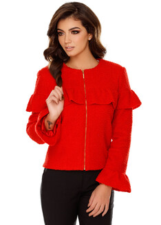 Jachetă Judith Roşie