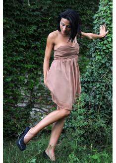 Rochie Celebrity Caramel