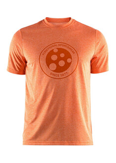 Tricou CRAFT Melange Graphic oranj