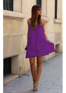 Rochia Liona Mov Ultraviolet