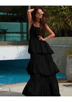 Rochie din Voal Lara Negru