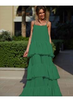 Rochie din Voal Lara Verde
